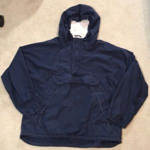Gap navy blue pullover with hood See measurements